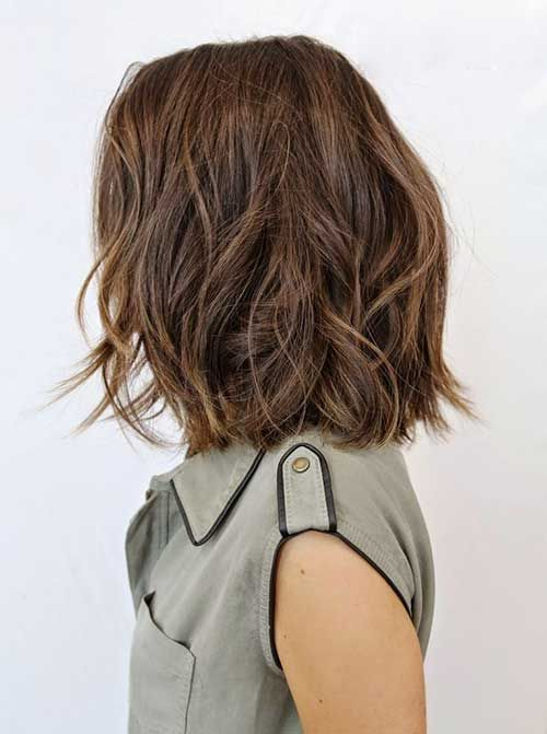 10 Bob Hairstyles For Thick Wavy Hair | all things new | Pinterest ...