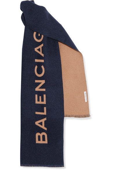 d3b07874 BALENCIAGA . #balenciaga #scarves | Balenciaga in 2019 | Cashmere ...