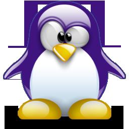 Purple Penguin Try All The Flavors Penguins Linux Doodle Illustration