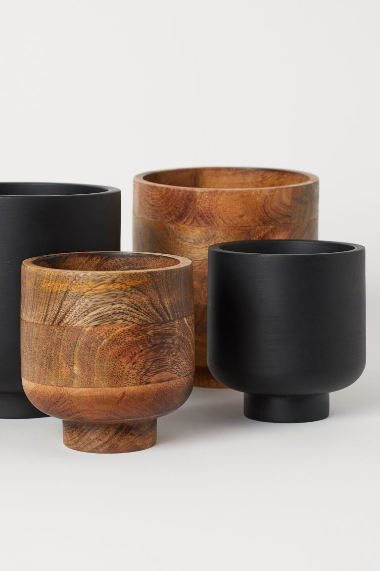 Wooden Plant Pot Wooden Plant Pots Small Potted Plants Potted