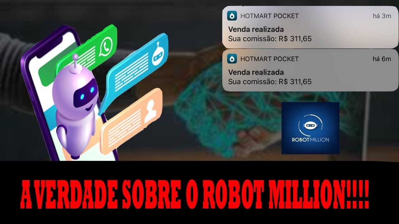 robot million whatsapp