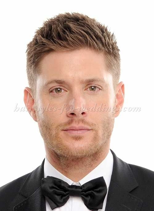 Brush Up Hairstyle For Grooms Trendy Short Hair Styles Mens Hairstyles Short Mens Haircuts Short