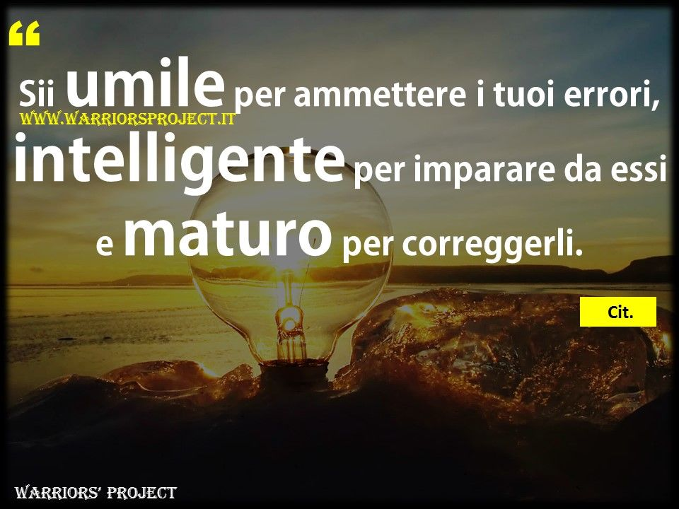 Preferenza www.warriorsproject.it #citazioni #aforisma #frasi #coaching  IH77