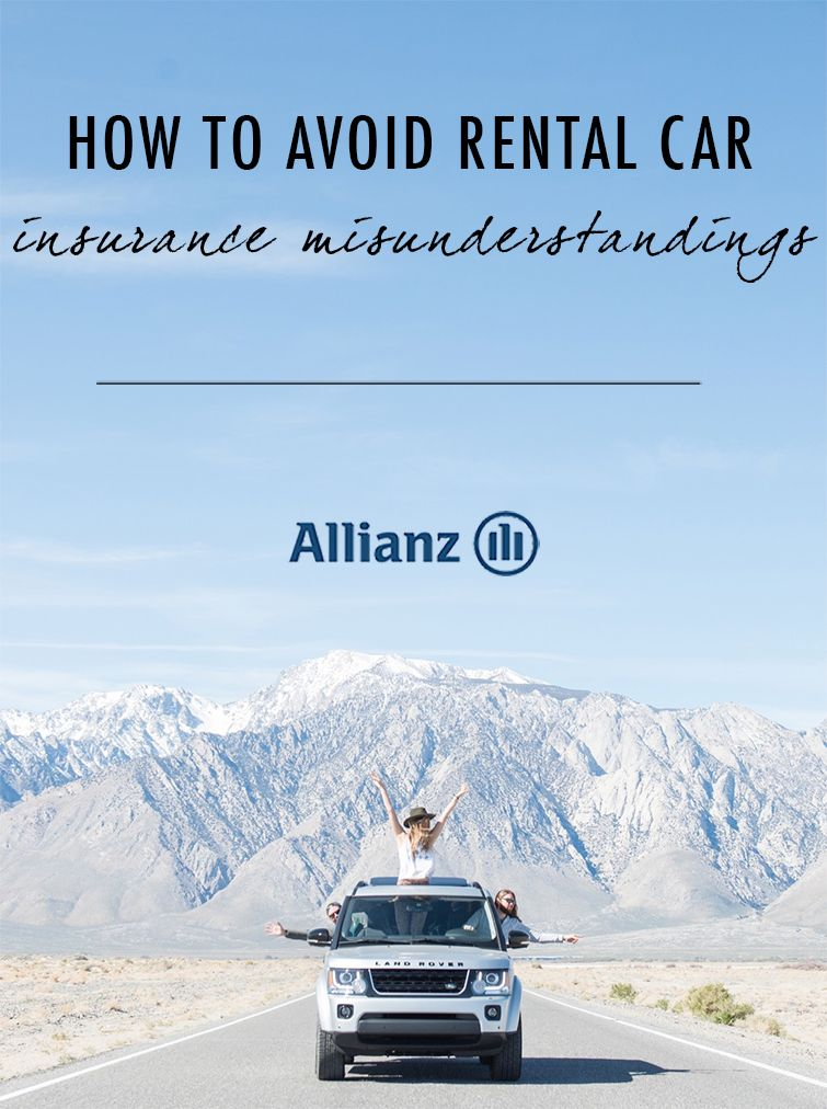 How to avoid rental car insurance misunderstandings Car