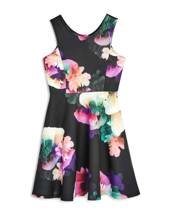 Aqua Girls' Sleeveless Floral Dress , Sizes S-xl - 100% Exclusive