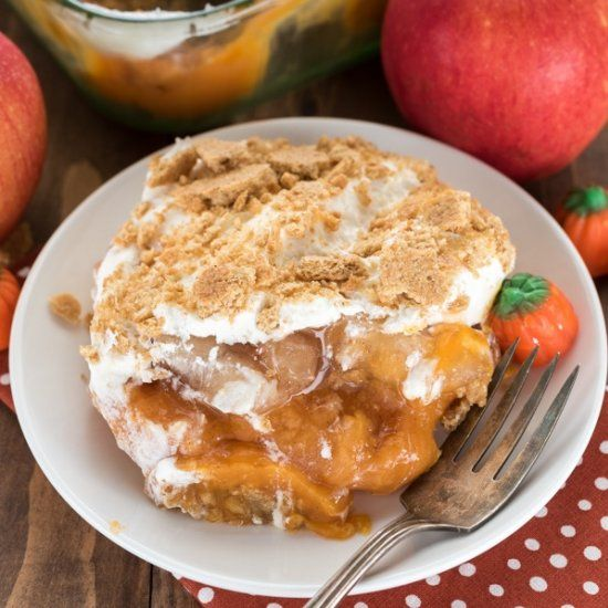 Pumpkin Apple No Bake Dessert Lush Is The Perfect No Bake