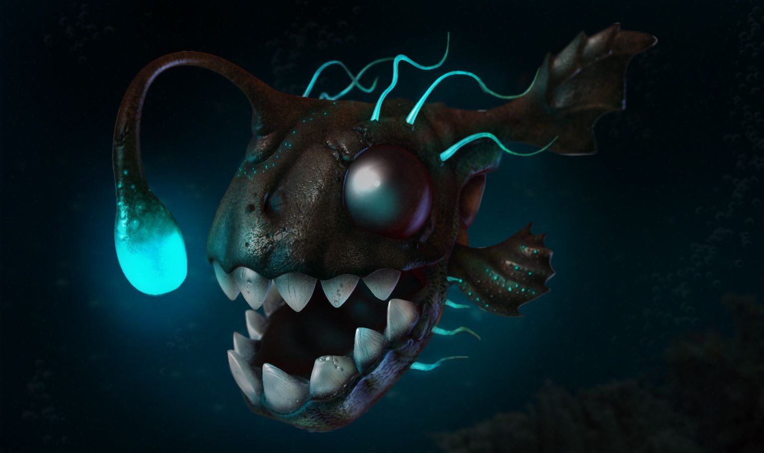 deep_sea_fish_by_jodac-d4nag01 (1534×910) | deep sea fish, Reel Combo
