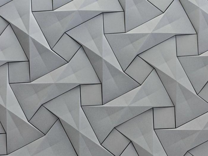 3d paneele wandpaneele sind als elegante raumaufwertung im trend steinoptik
