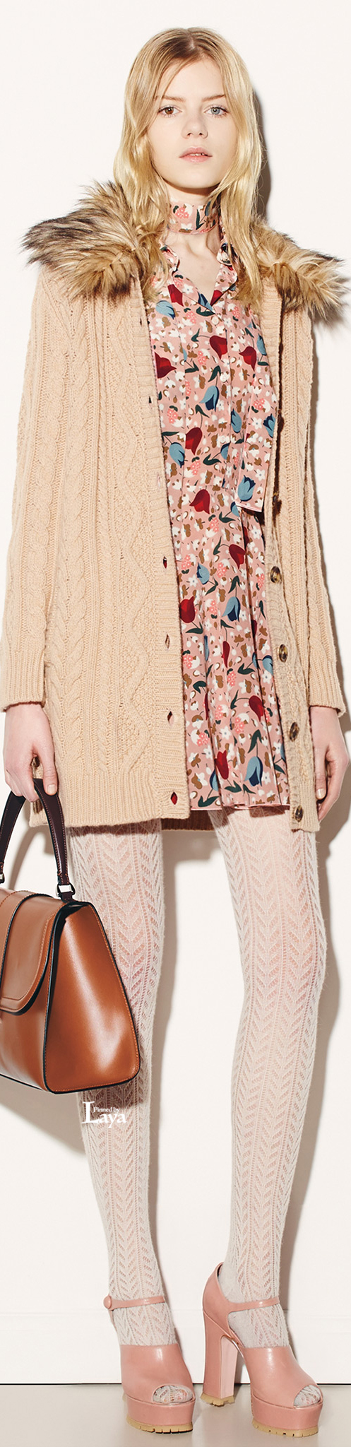 Red Valentino Fall 2015 Ready-to-Wear