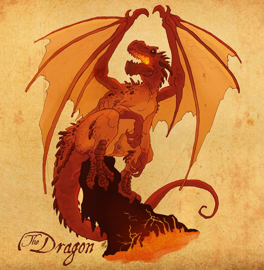 The Dragon by *VanOxymore on deviantART