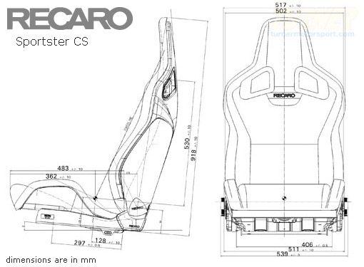 Recaro Sporster Gt Seat All Bmw Avtokresla Dizajn Salona