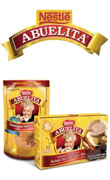Abuelita | NESTLÉ® USA  - A new coffee creamer AND liquid syrup are available now. I love it!  I've always loved a good mexican mocha but many stands don't serve it **Starbucks** cough::   Now I can make them at home with my own Kureig!