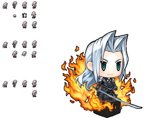 Mobile Pictlogica Final Fantasy Sephiroth Final Fantasy Sephiroth Final Fantasy Final Fantasy Artwork