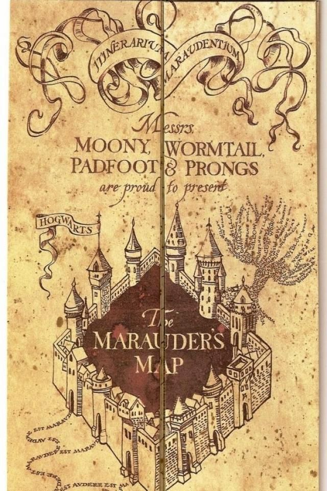 Pin By Peri On Bookish Things The Marauders Marauders Map Harry