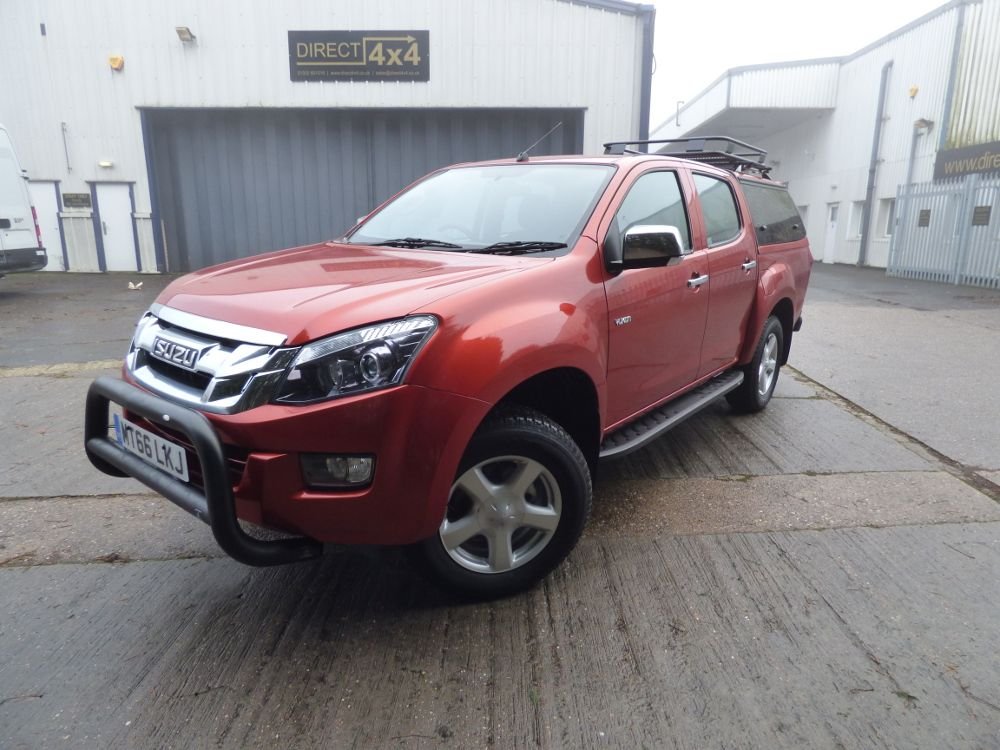 vehicle for sale direct 4x4s derbyshire package new isuzu d max kitted out with a smm steel canopy drawer system side steps a bar and roof rack - Compact Canopy 2016