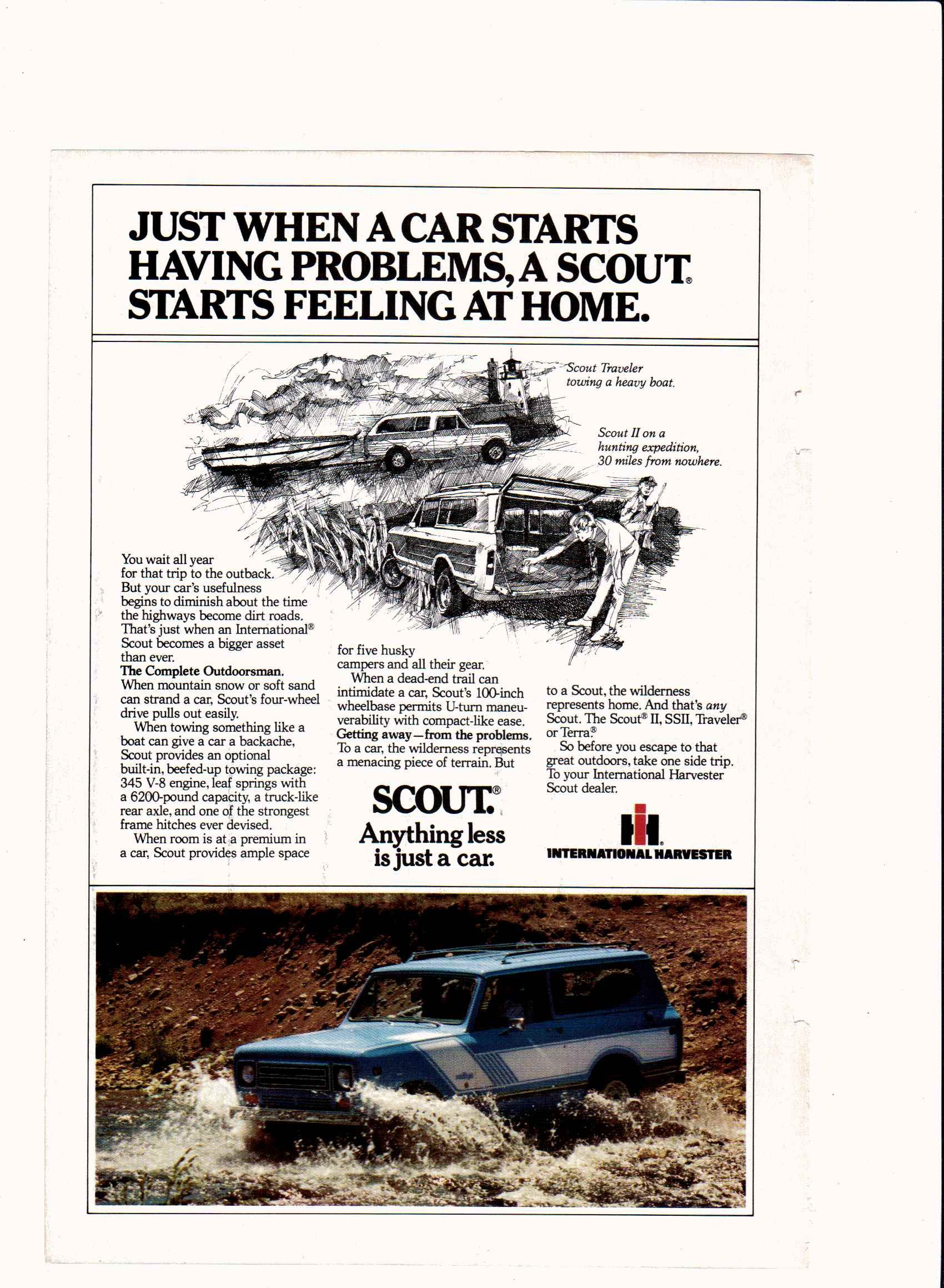 1979 Scout from International Harvester Scout II, SSII, Traveler, Terra