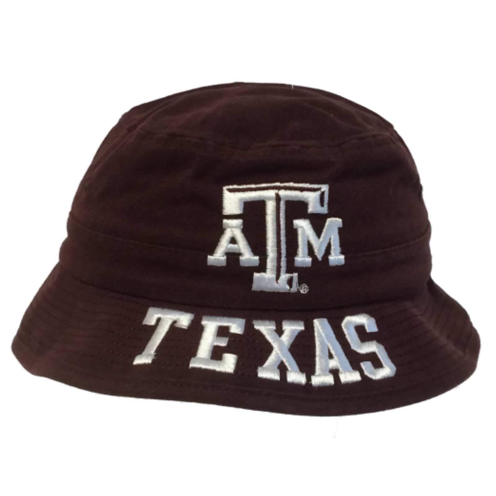 Texas A M Aggies Adidas BOYS Maroon Embroidered Bucket Hat Cap (4-7 ... 17dba846f35