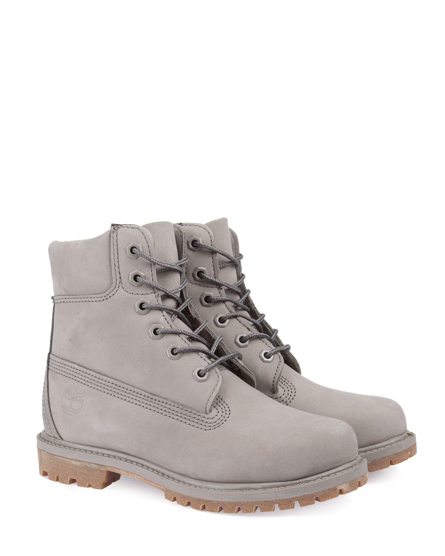 Timberland 6-inch Premium Boot W Steeple Grey Waterbuck Monochromatic Boots    Kängor  ec9707e11ea70