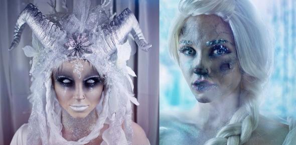 Wow! So schauderhaft können weiße Halloween-Looks aussehen!