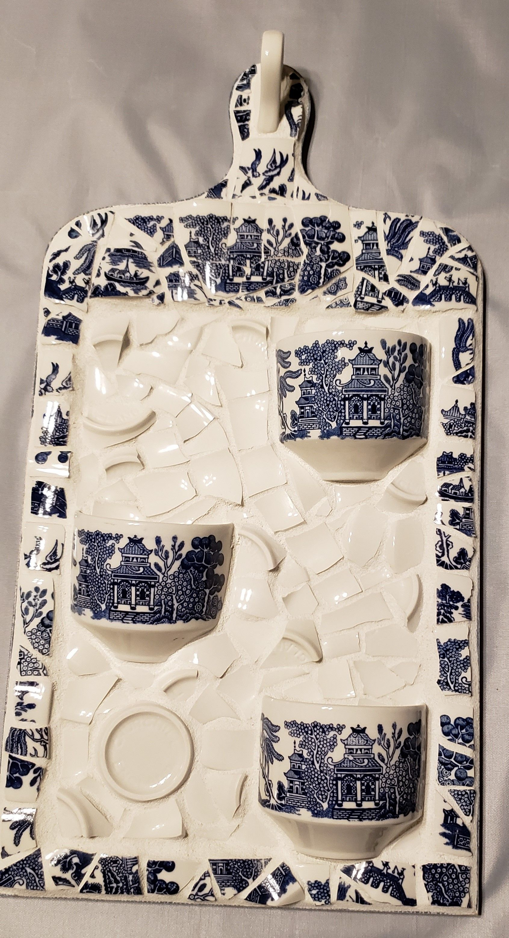 Created by Amy Glass, Broken By Design Mosaics. 75