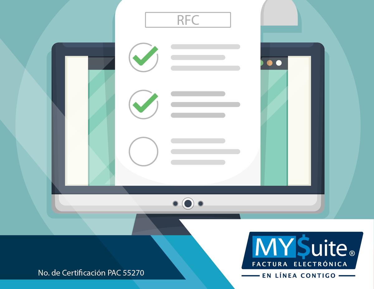 COMPROBANTE FISCAL DIGITAL. MYSuite. Para emitir la nómina digital, se debe verificar que la clave de RFC de cada asalariado o asimilado a sueldos, sea correcta y esté registrada en el SAT; además de que debe contener 13 posiciones; es decir, corresponder a una persona física. Le invitamos a comunicarse con nosotros al teléfono 01 (55) 1208-4940, para asesorarlo y brindarle información acerca de los beneficios de nuestros servicios. #comprobantefiscaldigital