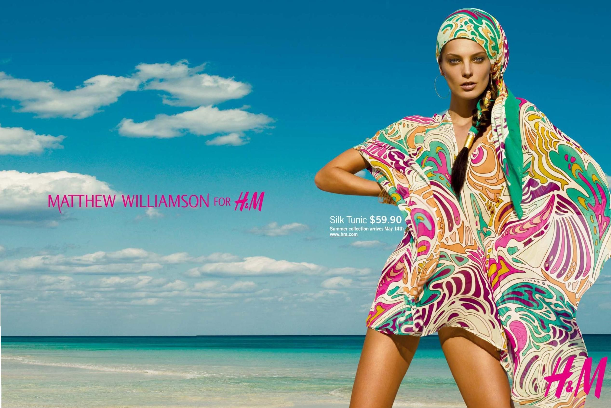 Matthew Williamson for H&M Summer '09 - Ad Campaign [Update .