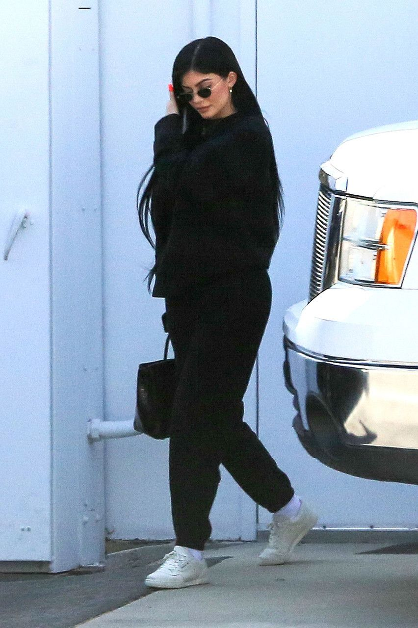 April 3: Kylie arriving at a studio in Los Angeles