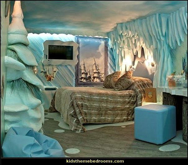 Ice Age Bedroom Ideas Winter Frozen
