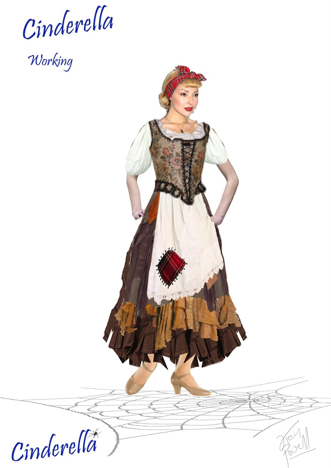 Cinderella Cinderella Costume Costume Design Fashion Costume