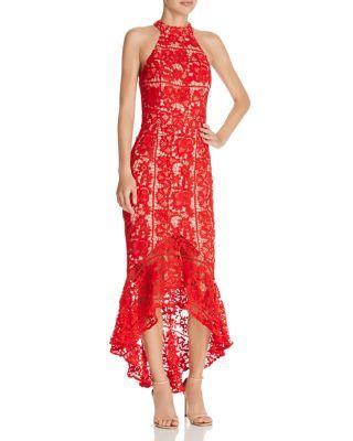 Jarlo Lace Highlow Dress Bloomingdales Formal Dresses