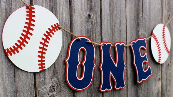 This Baseball Concessions Banner Is Sure To Be A Hit At Your Little Sluggers Baseball Part Baseball Theme Party Baseball First Birthday Baseball Theme Birthday
