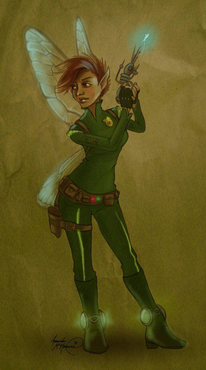 Holly Short by SilvaraDragon | Artemis + Holly