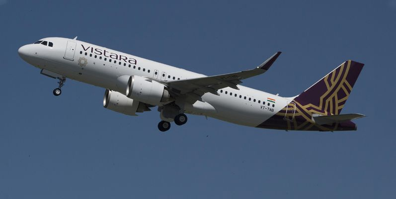 Vistara An Indian Domestic Airline Based In Gurgaon With Its Hub