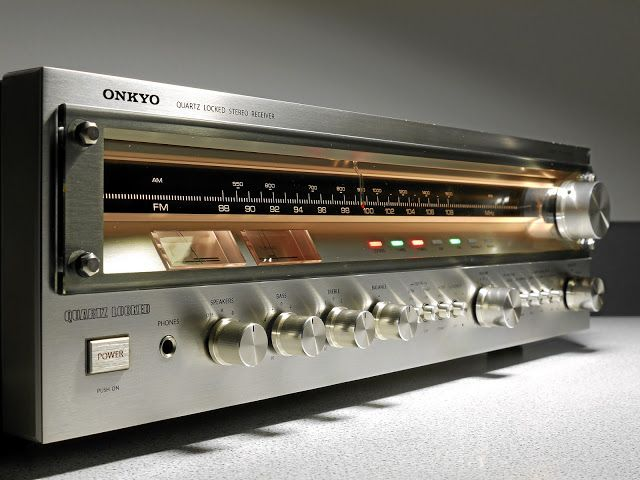 Onkyo TX 4500 MKII Stereo Receiver - 1977 - The first stereo
