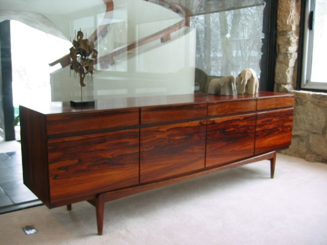 Find this Pin and more on Rosewood  Danish Modern rosewood credenza  from  Koefoed Furniture. Ib Kofod Larsen Rosewood Credenza   Rosewood   Pinterest