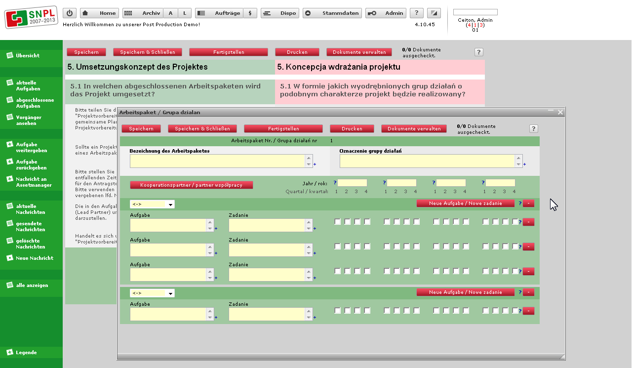 The Forms For The Workflow Engine Are Created With A Special Web