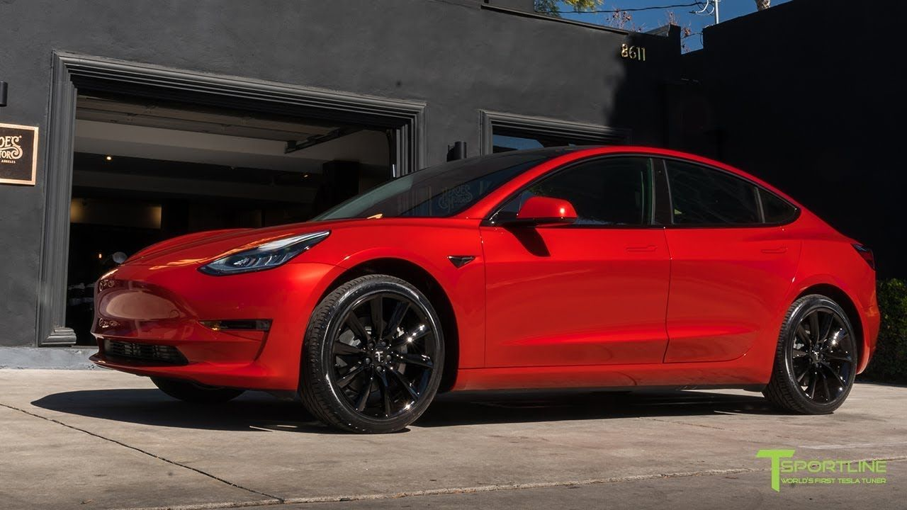 Red Tesla Model 3 Fully Customized: Dragon Fire Red with Diamond Design  Seat Upgrade Kit | Tesla model, Tesla, Tesla model x