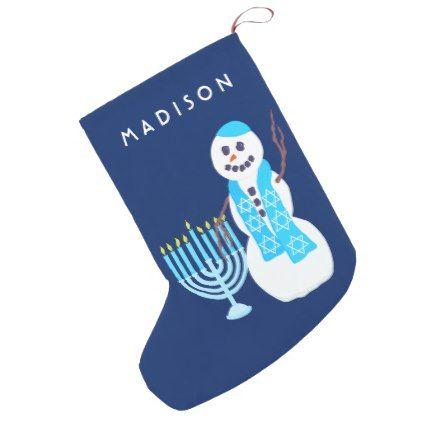 Hanukkah Jewish Snowman Menorah SML Chrismukkah Small Christmas - snowman template