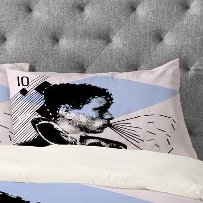 DENY Designs Randi Antonsen Poster Hero 1 Pillowcase Size: