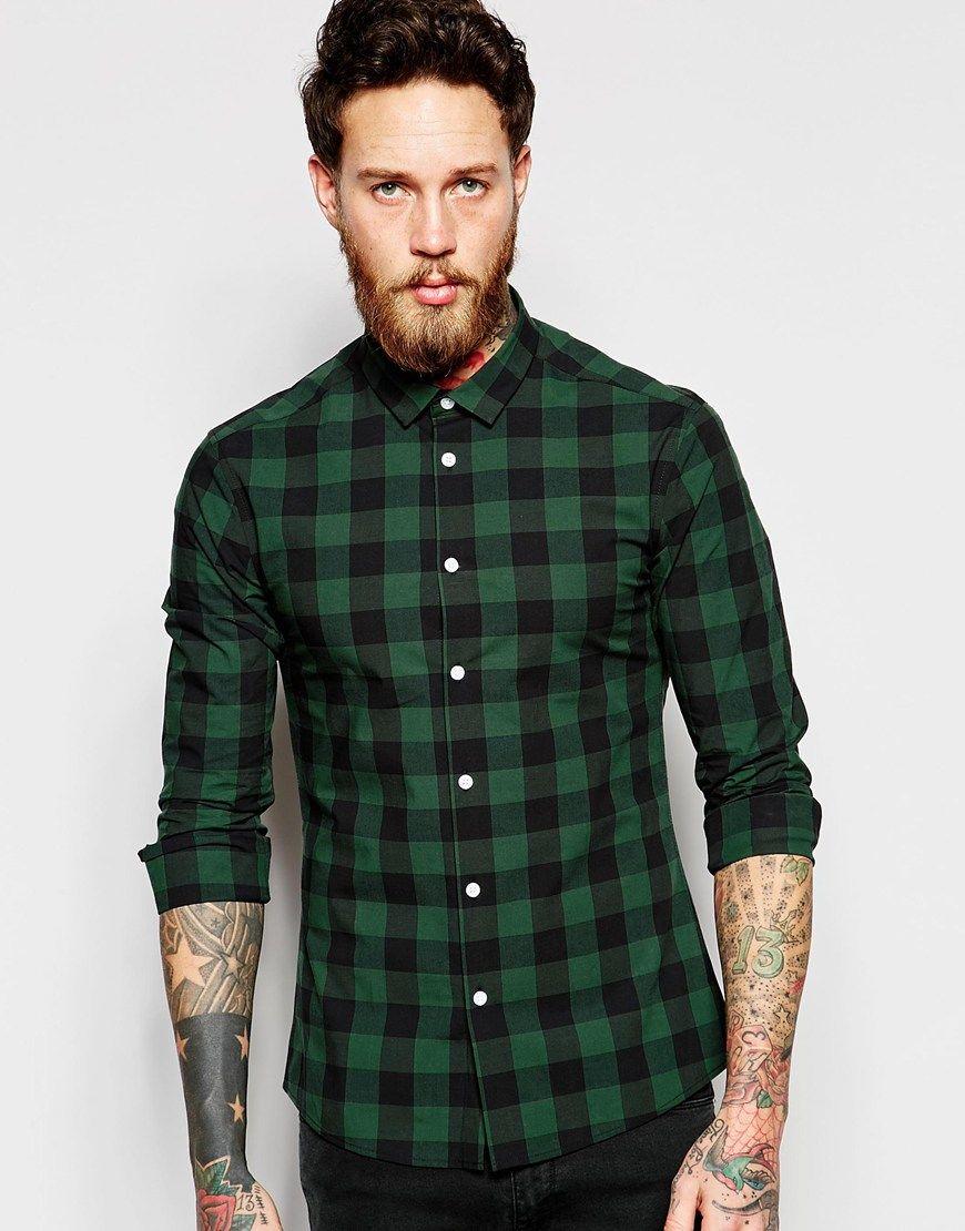 Camisa Xadrez como usar Buffalo Plaid 4dbe81dc2e3