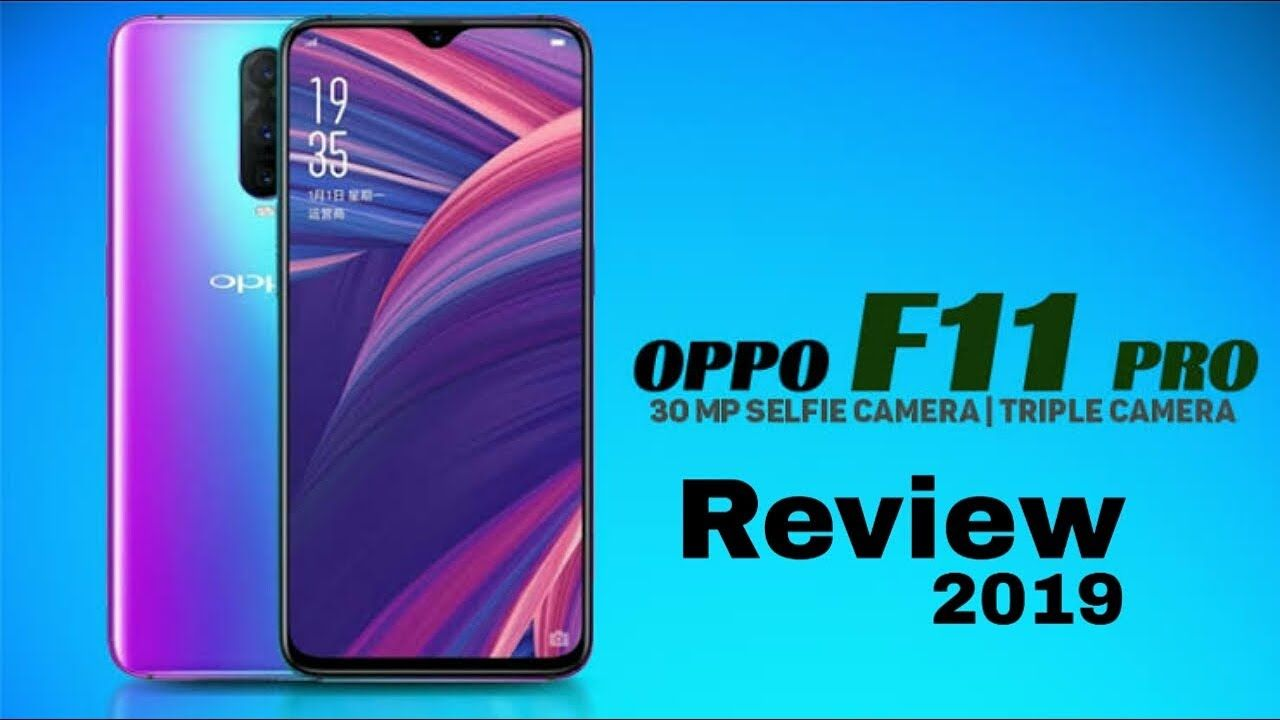 OPPO F11 Pro Full Specifications & Features Launch 2019