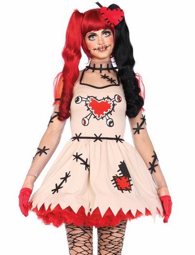 ca489ef86186 Voodoo Cutie Sexy Doll Costume | Voo doo dolls | Doll costume ...