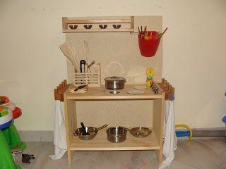 Giocattoli La Minicucina Fai Da Te Games Mini Homemade Kitchen Naturalmente Felice Cucina Per Bambini Cucina Rosa Mobili Rosa