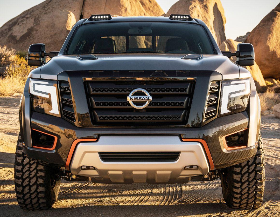 تيتان بيك اب واريور شاحنة نيسان الاختبارية المحاربة موقع ويلز Nissan Titan Nissan Car