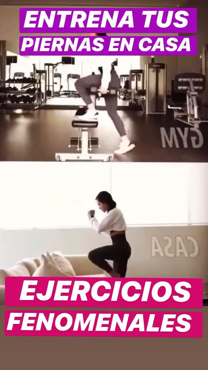 Tonifica y fortalece tus piernas con ejercicios PODEROSOS! Rutina de 20 minutos en casa