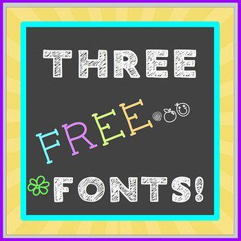 Download FREE FONT Three Pack - Chalkboard, Handwritten - personal ...