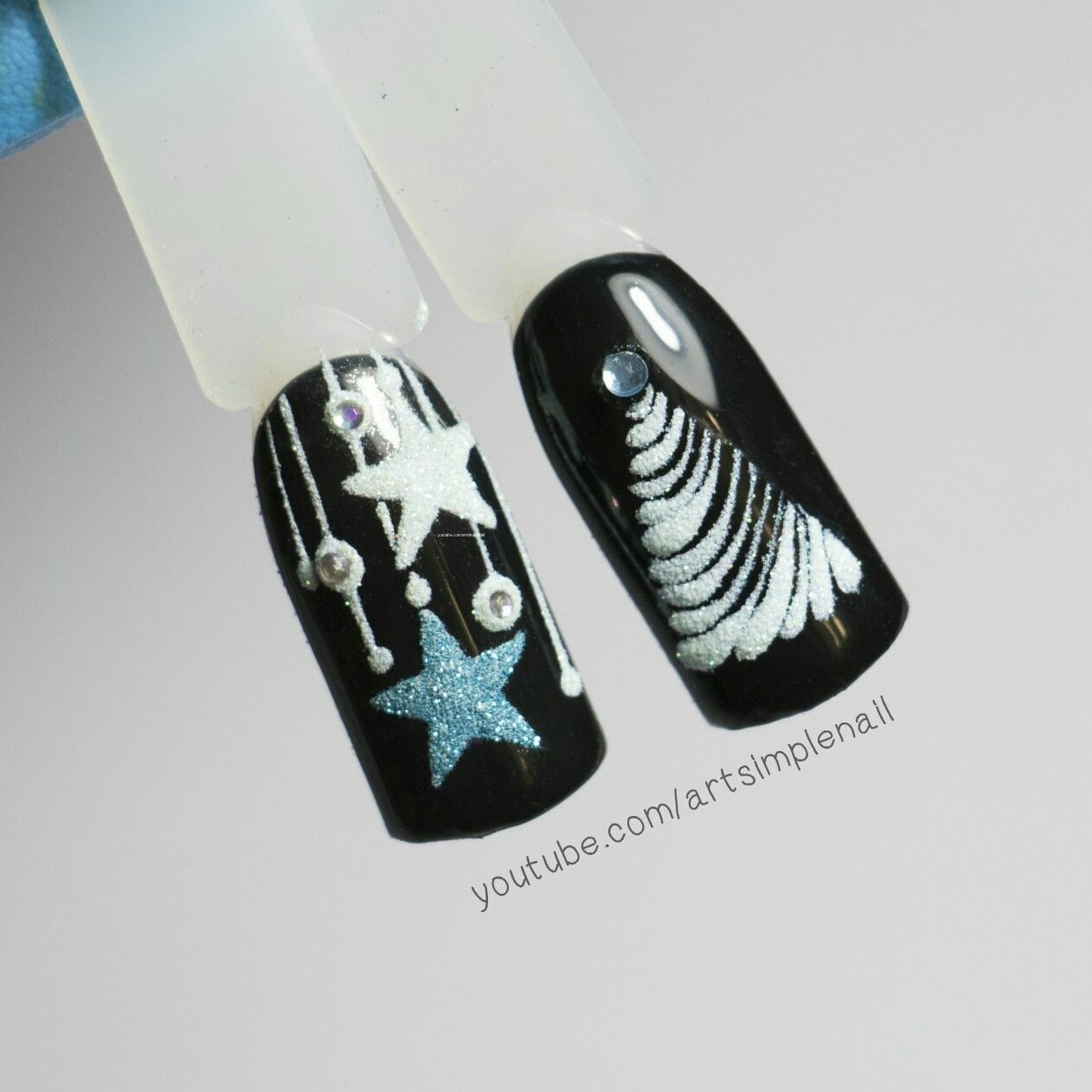 Pin by Анастасия Лиханова on Дизайн ногтей | Pinterest | Xmas nails ...