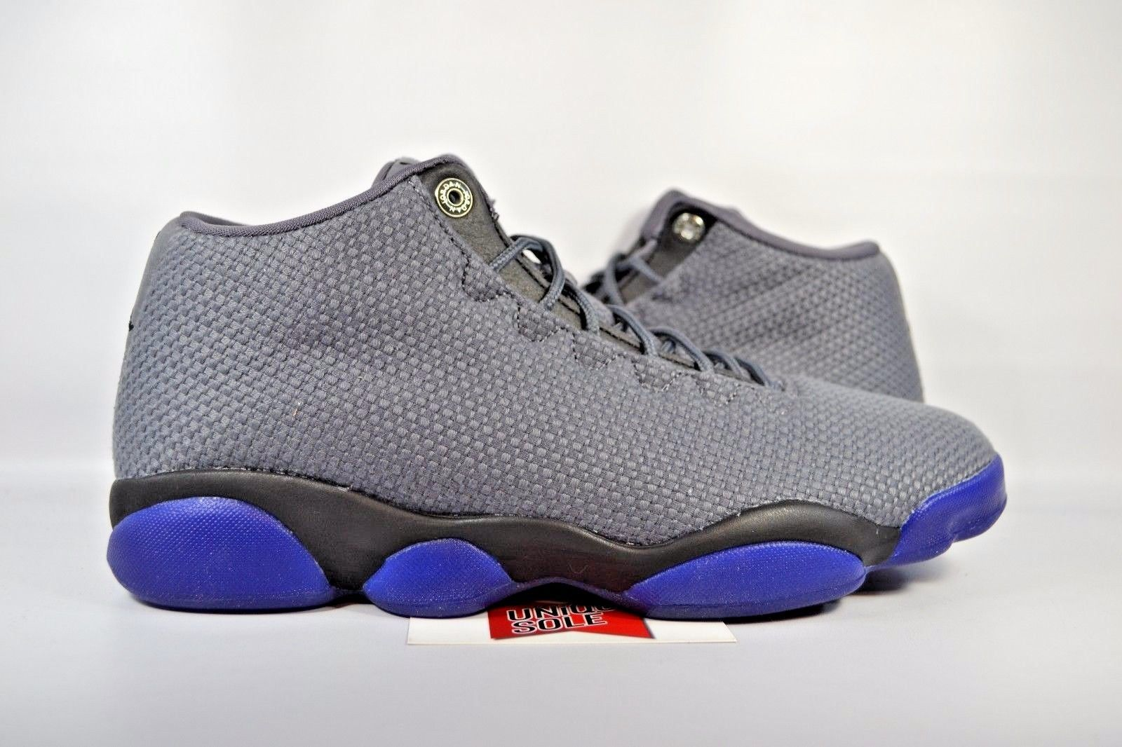 newest collection 03db1 f9dea NEW Nike Jordan Horizon Low DARK GREY CONCORD PURPLE 845098-002 sz 9