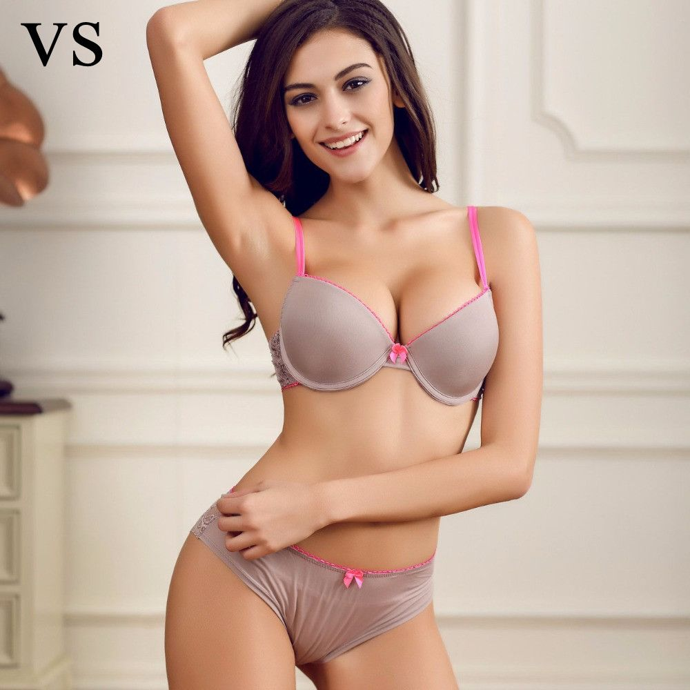New 2016 Brand Underwear Vs Women Seamless Bra Set Female ...