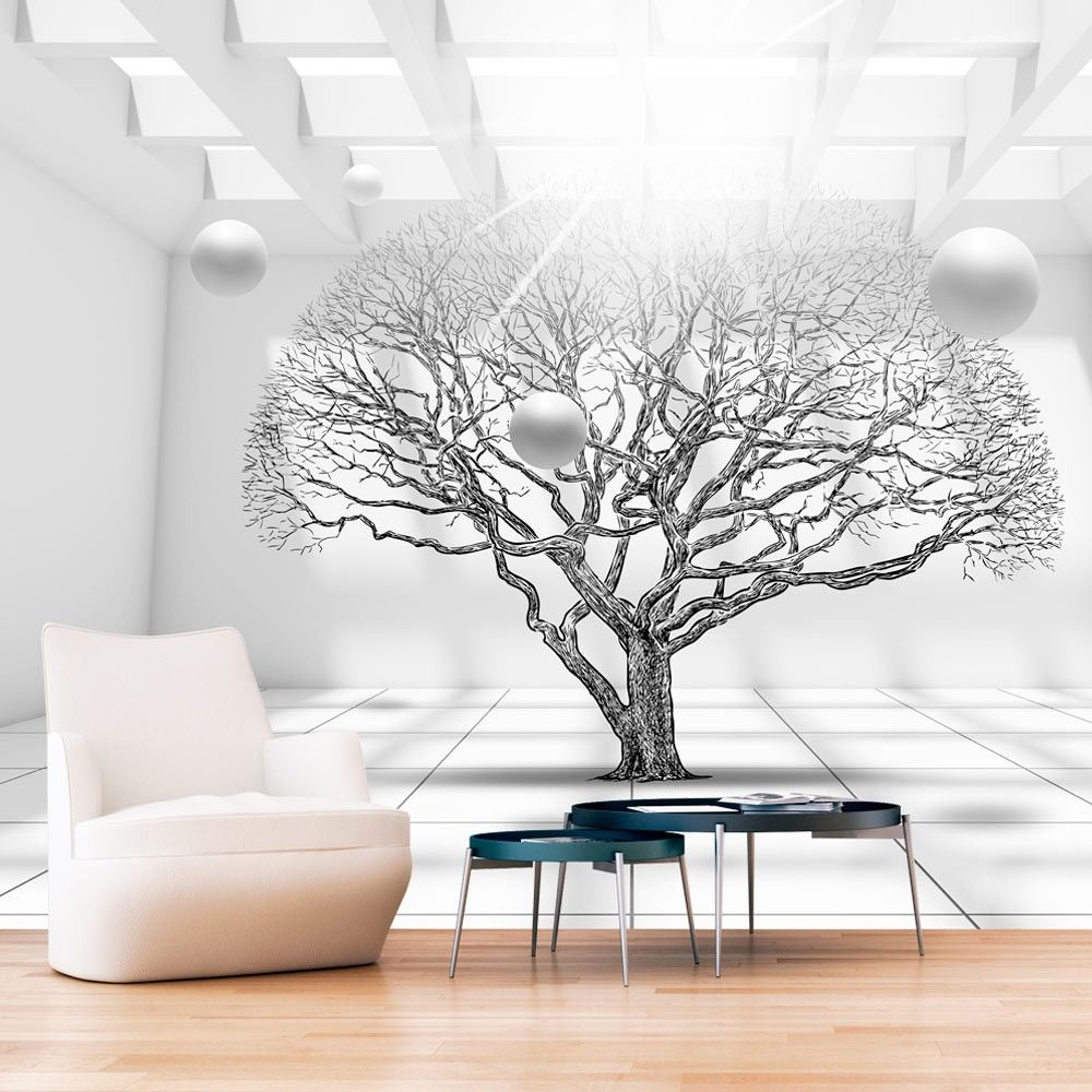 Wallpaper Tree Of Future 3d Wallpaper Mural Wallpaper 3d